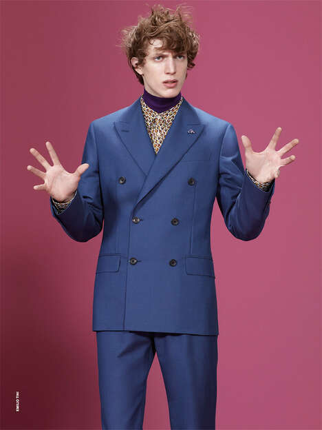 Boyish Elegance Editorials - The Xavier Buestel by Emilio Tini Image Series is Dapperly Dressed