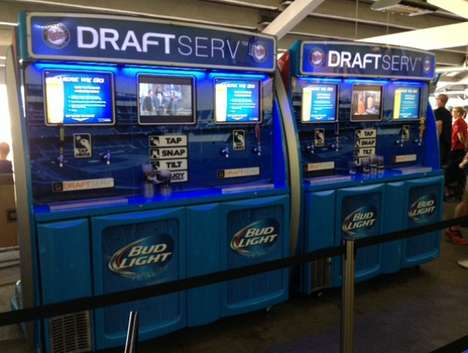 Pint-Pouring Machines - DraftServ is a New Type of Self Serve Beer Vending Machine
