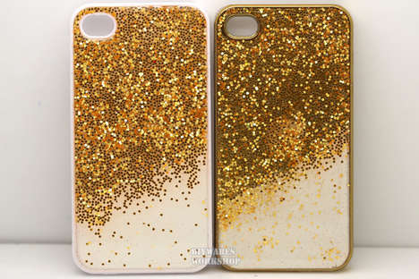 Gold-Dusted Tech Accessories - Etsy