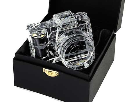 Clear Crystal Cameras - These Crystal SLR Cameras are Absolutely Stunning
