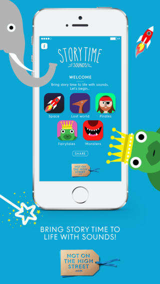 Quirky Storytelling Apps - The Storytime Sounds Story App for Kids Spins Unusual Tales