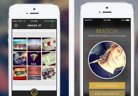 Photo-Based Dating Apps - The Glimpse App Sets You Up With People Based on Your Instagram Account