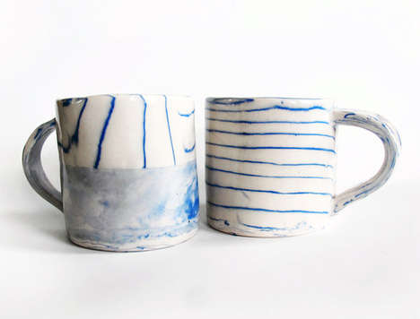 Chic Oceanic Ceramics - Leah Ball is Influenced by Organic Forms and Colors