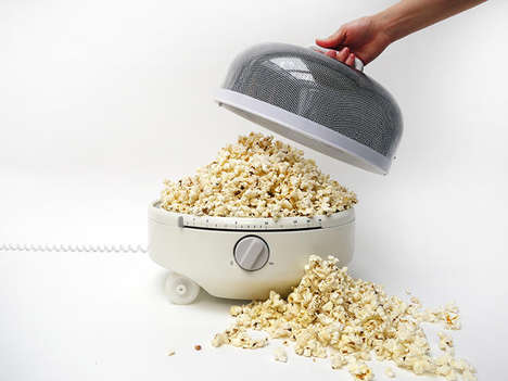 Mobile Microwave Devices - The Mediumwave Will Increase Your Stay-In Movie Nights