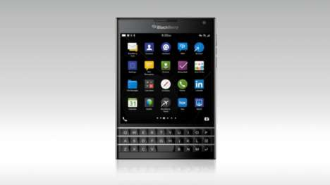 Square Passport Phones - BlackBerry