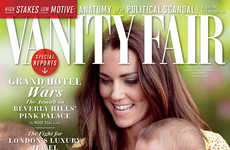 Regal Family Editorials - Prince George Scores a Vanity Fair Cover for His First Birthday