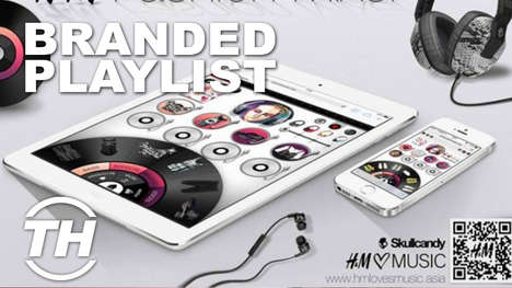 Branded Playlists - Trend Hunter