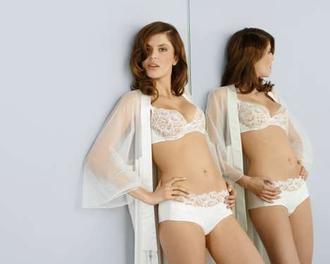Luxurious Bespoke Lingerie - The Pieces Uniques Line by Maison Lejaby is All Bespoke & Truly Unique