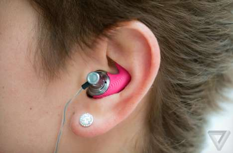 3D-Printed Earbuds - Normals is Offering Custom Sound Through 3D Printing
