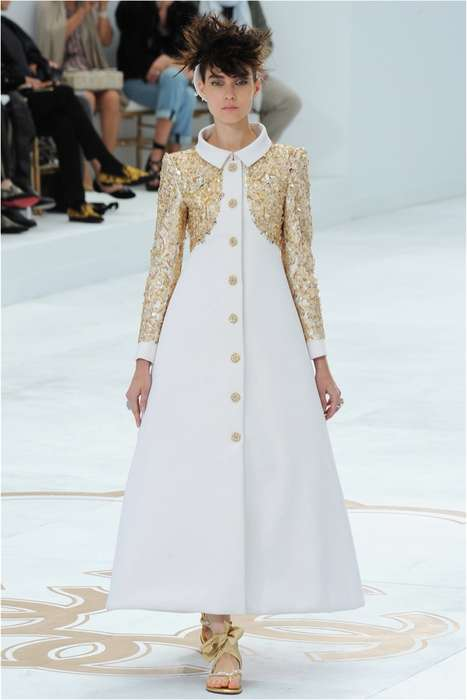 Versailles-Inspired Collections - The Chanel Fall/Winter 2014 Collection is Structured