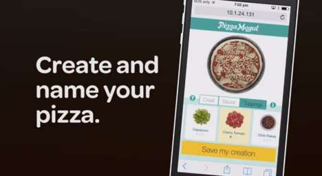 Crowdsourced Pizza Apps - Domino's Pizza Mogul App Lets You Design a Pizza and Get Paid for It