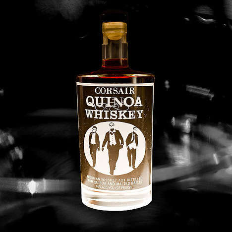 Healthy Quinoa Whiskies - The Corsair Quinoa Whiskey is Filled with Delicious Protein