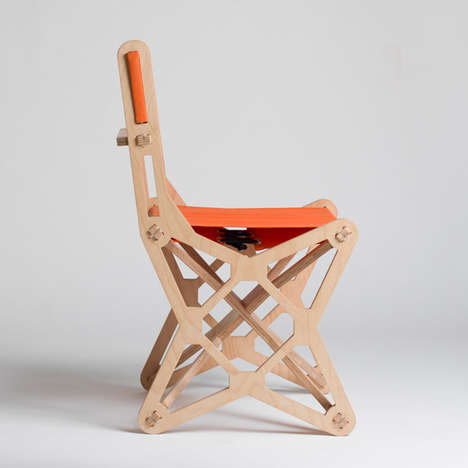 Geometric Symmetry Seating - Knostantin Achkov