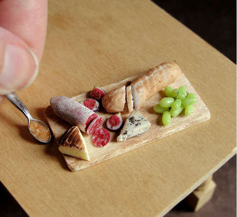 Miniature Meal Sculptures (UPDATE) - These Food-Resembling Tiny Art Pieces are Really Made From Clay