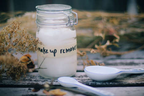 DIY natural makeup remover