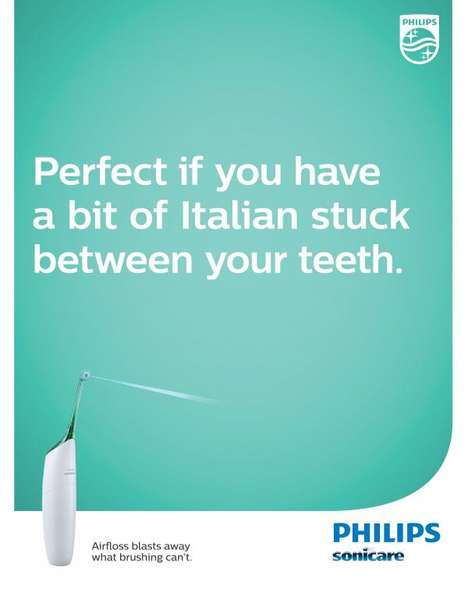 Biting Dental Advertisements - Philips Sonicare Makes a Witty Reference to the World Cup Suarez Bite