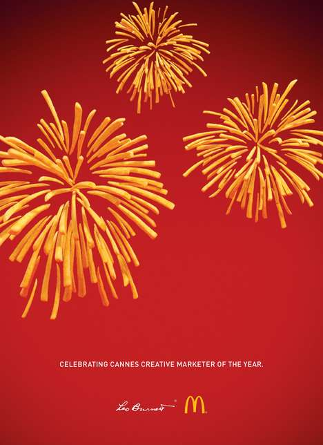 French Fry Firework Ads - This Ad Celebrates McDonald