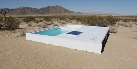 Secret Desert Pools - Social Pool by Alfredo Barsuglia Requires a Key to Use
