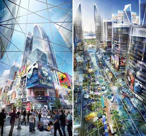 Sustainable Supermalls - Dubai Has Plans to Build the World