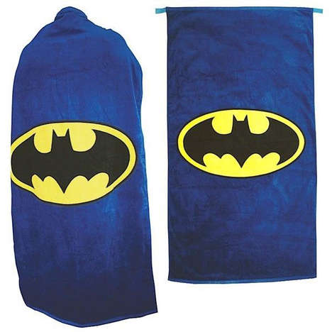 Heroic Towel Costumes - The Forbidden Planet Batman Towel Cape Turns You Into the Caped Crusader