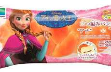 Princess Snack Packaging - In Japan, Fans Can Purchase Edible Disney Frozen Film Goodies