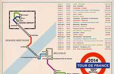 Cycling Tour Subway Maps