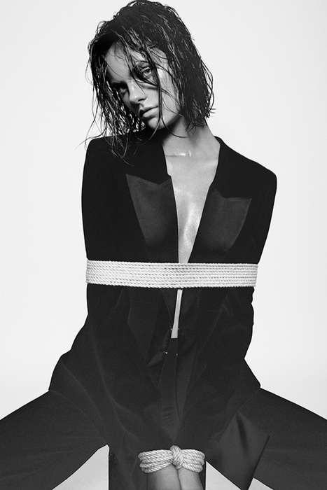 Sensually Roped Editorials - The  U+ Magazine