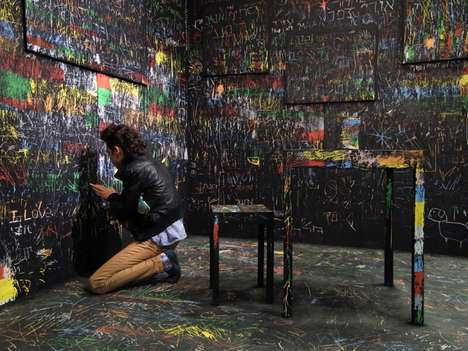 Interactive Scratch Board Installations - Itay Ohaly