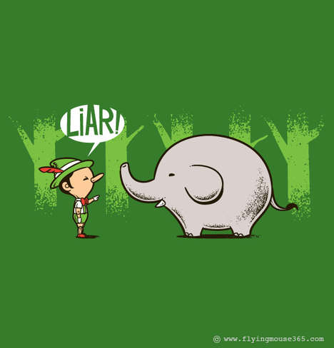 Visual Pun Prints - These Clever and Witty T-Shirt Designs are Adorably Cute