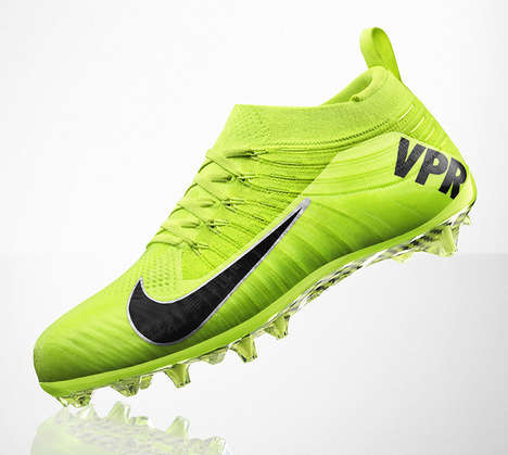 Second-Skin Soccer Shoes - The NIKE Vapor Cleats are the Latest from the Forward-Thinking Company