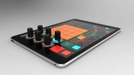 Touchscreen DJ Knobs - Tuna Knobs Convert Regular Tablets into DJ Workstations
