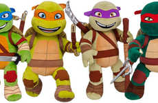 Cinematic Turtle Teddies - The Teenage Mutant Ninja Turtles are Now Available as Build-a-Bears