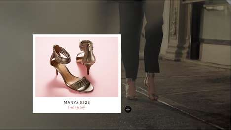 Interactive Shopping Videos - WIREWAX & the CFDA Pair Up to Promote Shoppable Designer Videos
