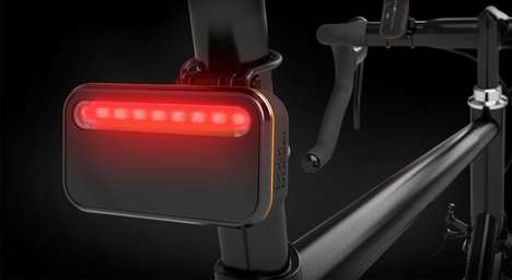Intuitive Cyclist Alerts - The Radar Bicycle Sensor System Uses Simple Colors to Warn Bikers of Cars