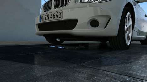 Wireless Car Chargers - BMW is Developing Wireless Inductive Charging Systems for Cars