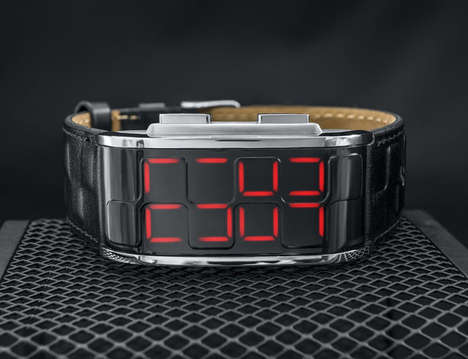 Cryptic Analogue Watches - The Tokyoflash Kisai Sequence LED Watch Displays the Time in Code