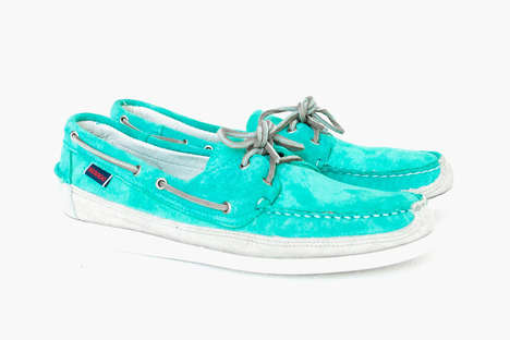 Sprightly Footwear Collections - The Ronnie Fieg x Sebago Summer 2014 Collection is Limited Edition