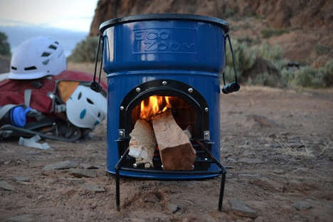 Portable Outdoor Stoves - The EcoZoom Zoom Dura Stove Brings Home-Cooking to the Great Outdoors