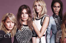Pastel Autumn Fashion (UPDATE) - The Gucci Fall 2014 Campaign Stars a Cast of Top Models