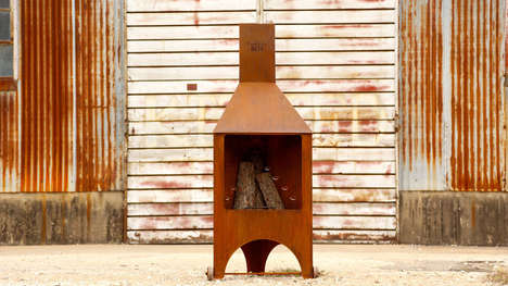 Charming Camping Chimneys - This Outdoor Fire Creation is Stylish, Functional and Durable