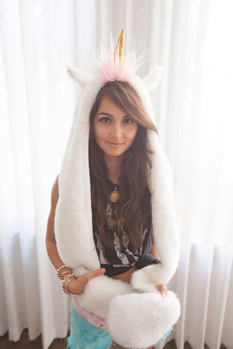 Unicorn Spirit Hoods - The Smoko Inc. Magicorn is Fundraising Through a Kickstarter Campaign