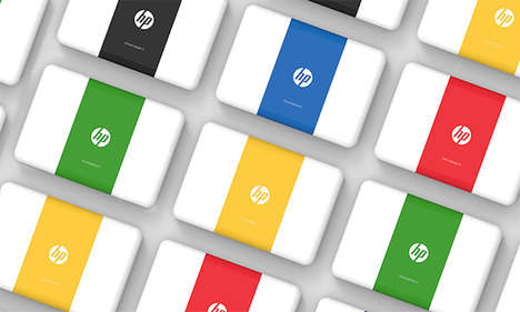 Chromatic Laptop Packaging - The HP Chromebook 11 Boxes Are Colorful, Minimal and Eco-Friendly