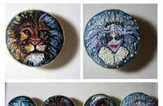 Literary Macaron Designs - The French Desserts are Inspired by The Lion, the Witch and the Wardrobe