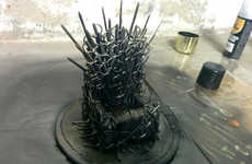 This DIY Game of Thrones Phone Holder Looks Like the Infamous Iron Throne