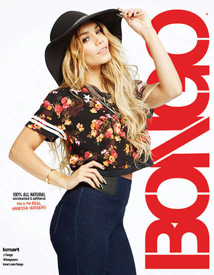 Untouched Fashion Ads - The Vanessa Hudgens Bongo Campaign Has No Retouching or Filters