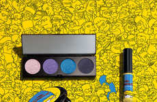 Cartoon-Celebrating Cosmetics - The MAC x The Simpsons Collection is Released for Comic Con