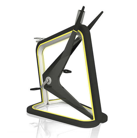 Sculptural Fitness Bikes - The Vito Workout Bike Combines Technology, Art and Fitness into One