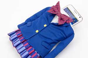 Groove Garage's Phone Case Clothing Takes the Shape of a Schoolgirl Uniform