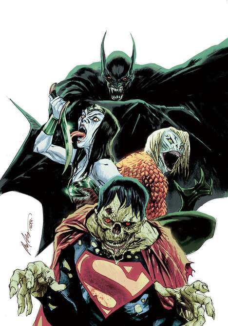 Superhero Monster Comics - DC Gets into the Halloween Spirit with Its Monster Variant Covers