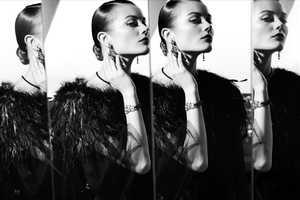 Jac Jagaciak Stars in the Chanel High Jewelry Ads